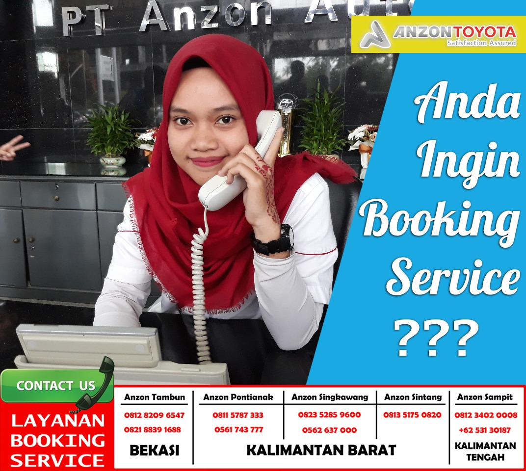 Booking Service Anzon Toyota